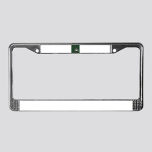 Golf Cup and Ball License Plate Frame