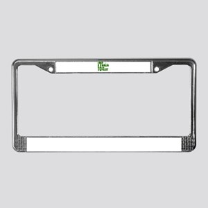 I rep Naija to the fullest License Plate Frame