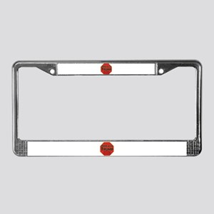Impeach Trump License Plate Frame