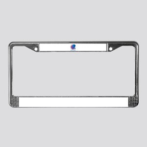 Enterprise Personalized License Plate Frame