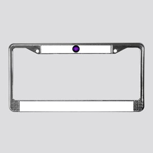 Be Present. License Plate Frame