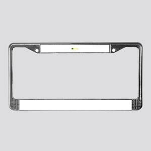 Brasilia License Plate Frame