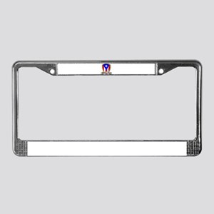 Puerto Rico - Shield2 License Plate Frame