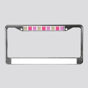It's All About Love License Plate Frame