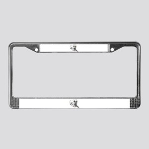 Love Jack Russell Dog License Plate Frame