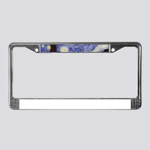Van Gogh Starry Night License Plate Frame