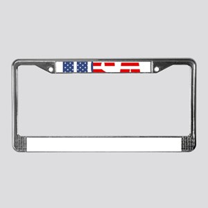 made in the usa License Plate Frame