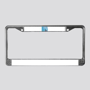 Border Collie Tree of Life License Plate Frame
