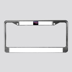 Villefranche Sunrise License Plate Frame
