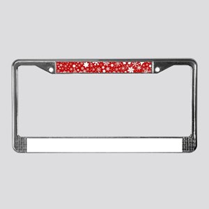 Christmas Blast License Plate Frame