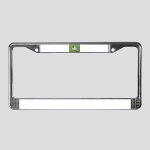 Himalayn Kitty License Plate Frame