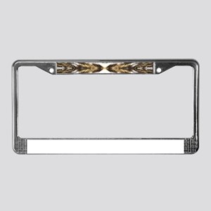 leopard fur ocelot cheetah License Plate Frame
