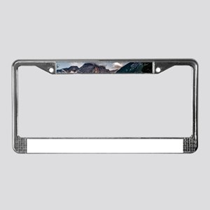 Italian Mountains Lake Landsca License Plate Frame