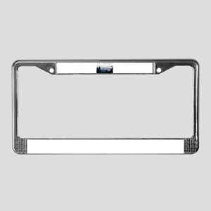 Smoky Mountain Sunrise License Plate Frame