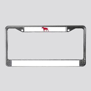 German Shorthaired Pointer License Plate Frame
