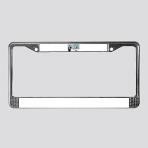 Kamikaze (Pool) License Plate Frame