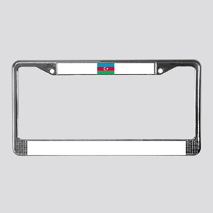 Azerbaijan flag License Plate Frame
