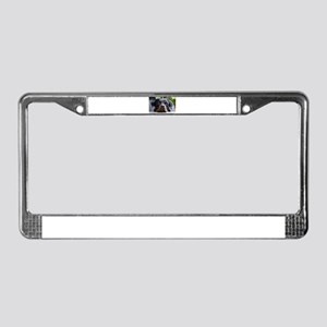 LS rottweiler second License Plate Frame