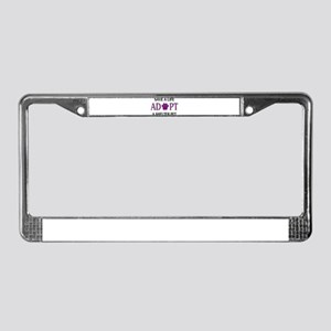 Save A Life License Plate Frame