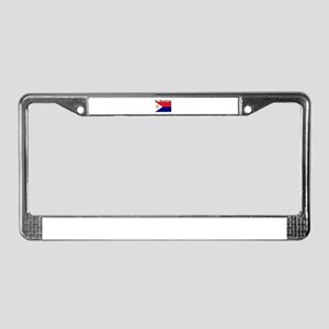 St. Maarten Flag License Plate Frame