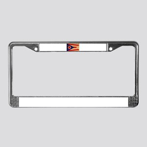 Ohio Flag License Plate Frame