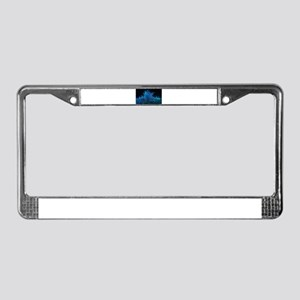 Waves at sea License Plate Frame