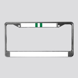 Nigeria flag License Plate Frame