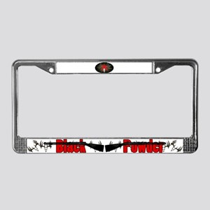 Whitetail buck License Plate Frame