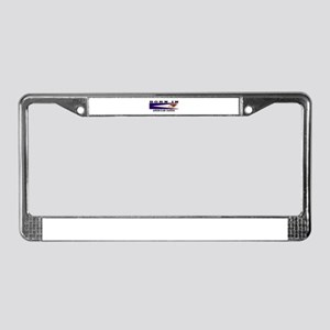 Born In American Samoa License Plate Frame