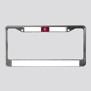 Flag of Tennessee Gloss License Plate Frame