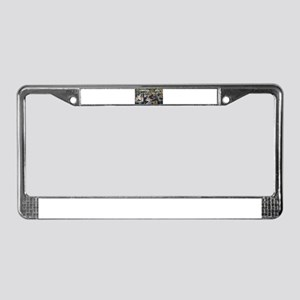 Pierre-August Renoir's Bal du License Plate Frame