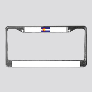 Colorado State Flag License Plate Frame