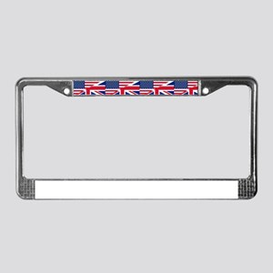 uk usa License Plate Frame