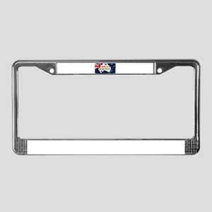 Made in South East Nanango, Au License Plate Frame