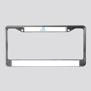 Heal Cancer Prostate Cancer Aw License Plate Frame