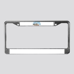 Summer fort myers- florida License Plate Frame
