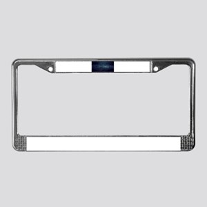 Technology Concept and Digital License Plate Frame