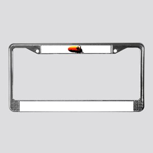 Out West License Plate Frame