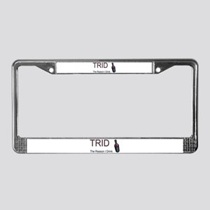TRID Bottle License Plate Frame