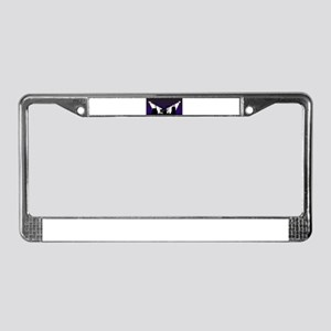 Rock Band Stage Equipent License Plate Frame