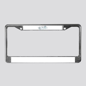 Icy RSD Awareness Diamond Sta License Plate Frame