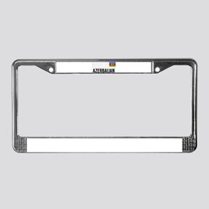 Made In Azerbaijan License Plate Frame