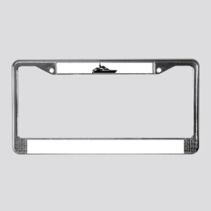 Boat - yacht License Plate Frame