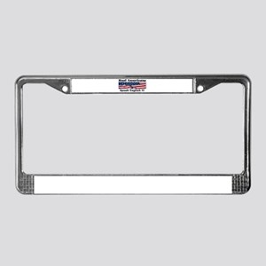 American English License Plate Frame