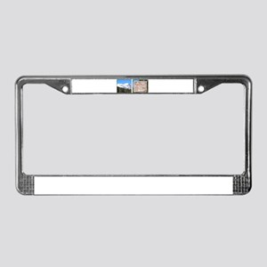 Quandary Peak and info License Plate Frame