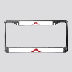 Ruby Shoes License Plate Frame