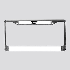 Hang Gliding License Plate Frame