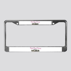 Forget Prince Charming.. I ha License Plate Frame