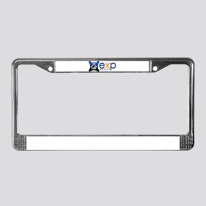 eXp Realty License Plate Frame