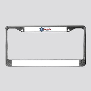Here to Save Your Ass License Plate Frame